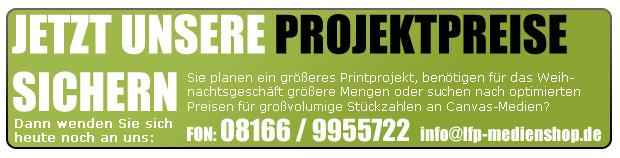 Profitieren Sie uns unseren starken Projektpreisen!